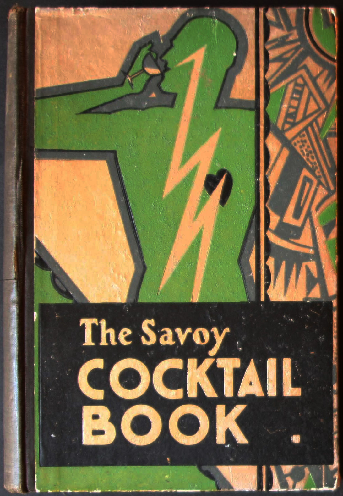 The Savoy Cocktail Book first edition