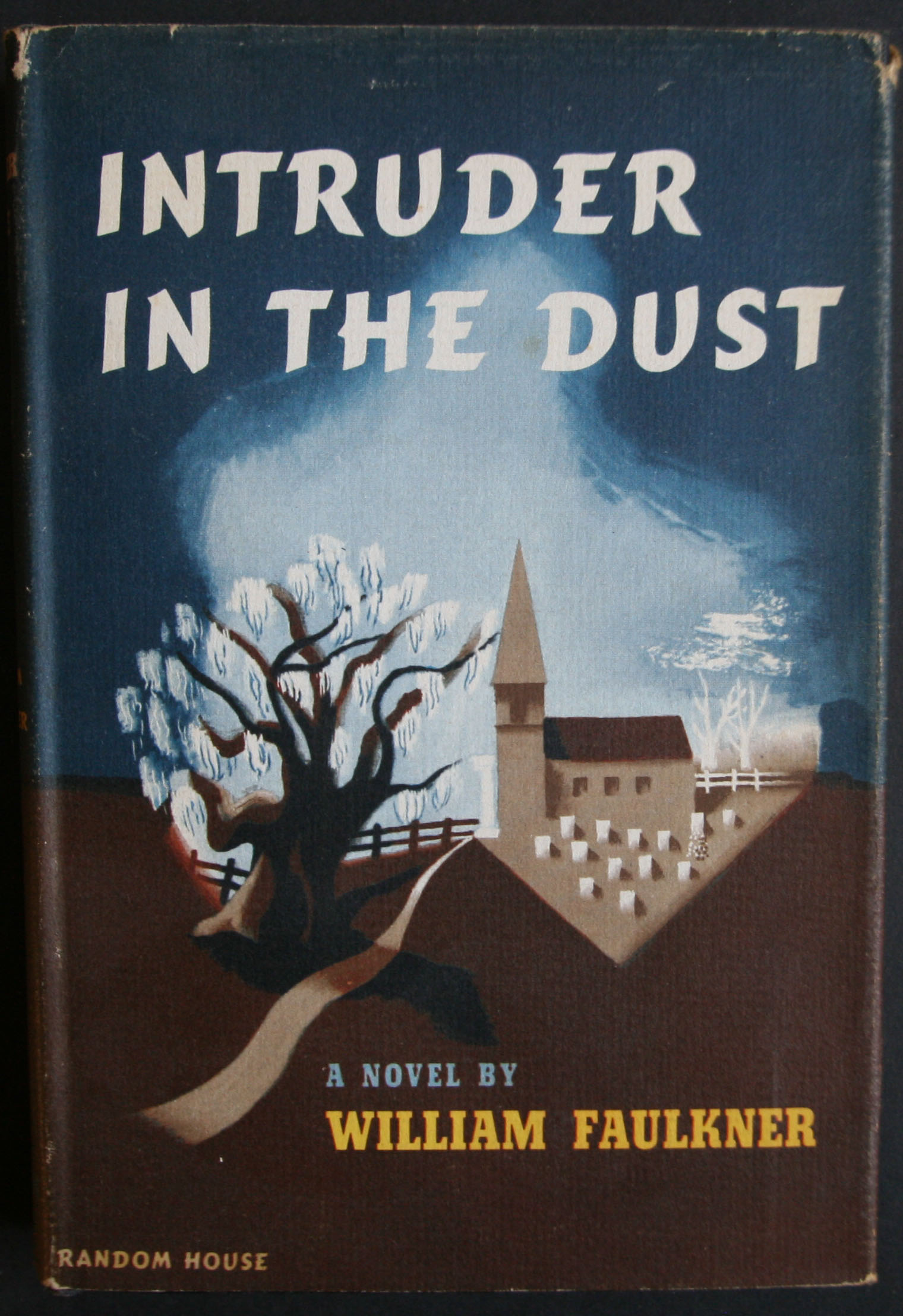 William Faulkner Intruder In The Dust first edition