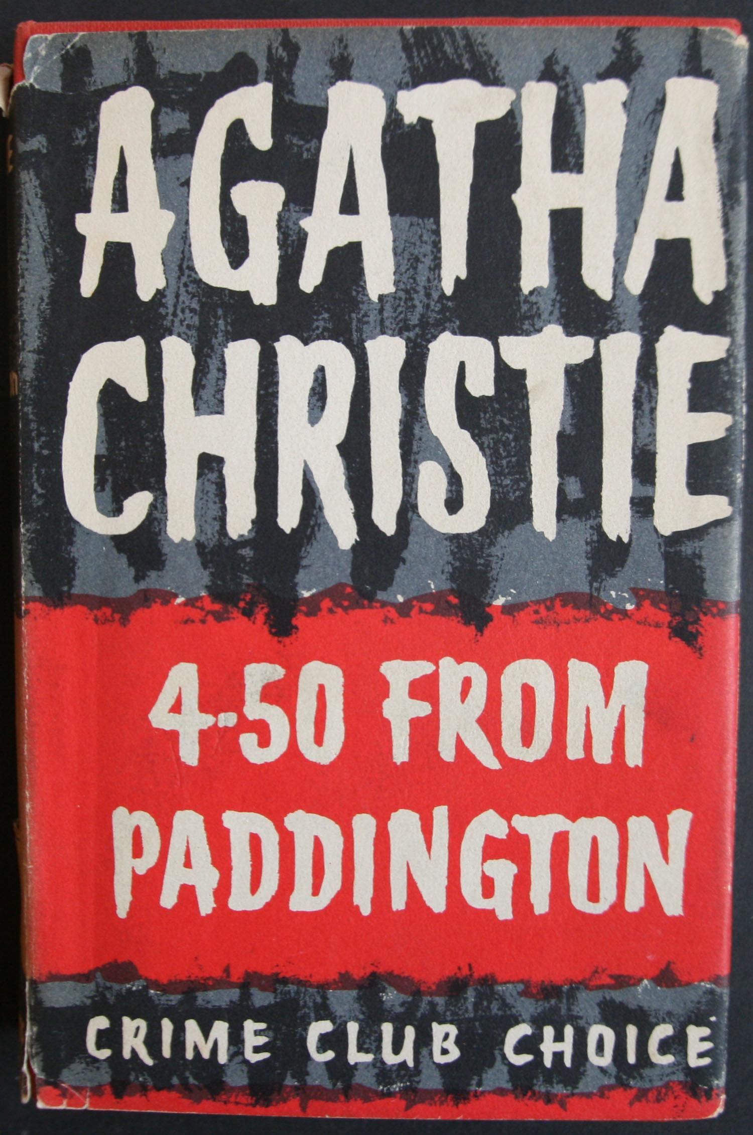Agatha Christie first edition
