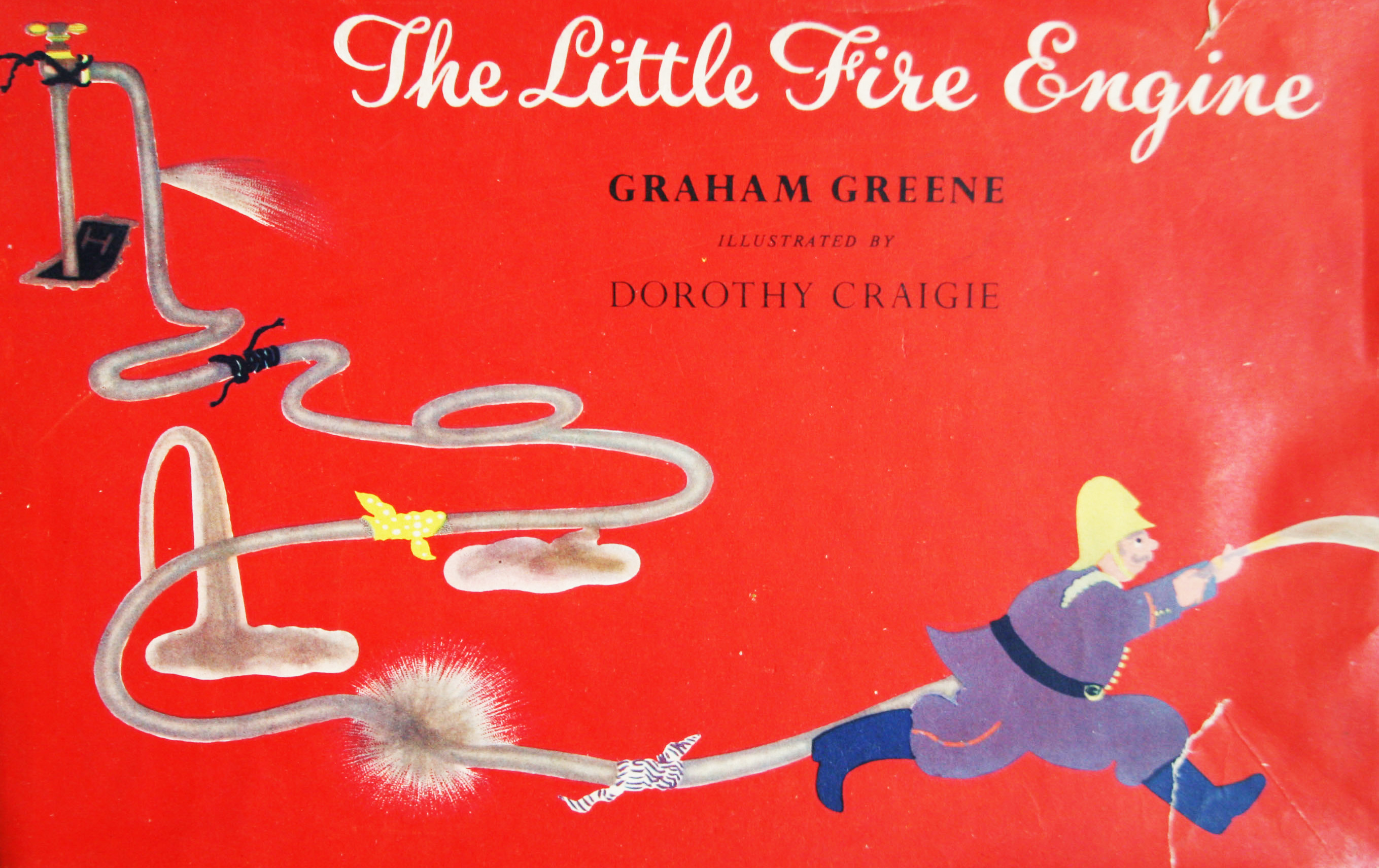 graham greene the little fire engine first edition