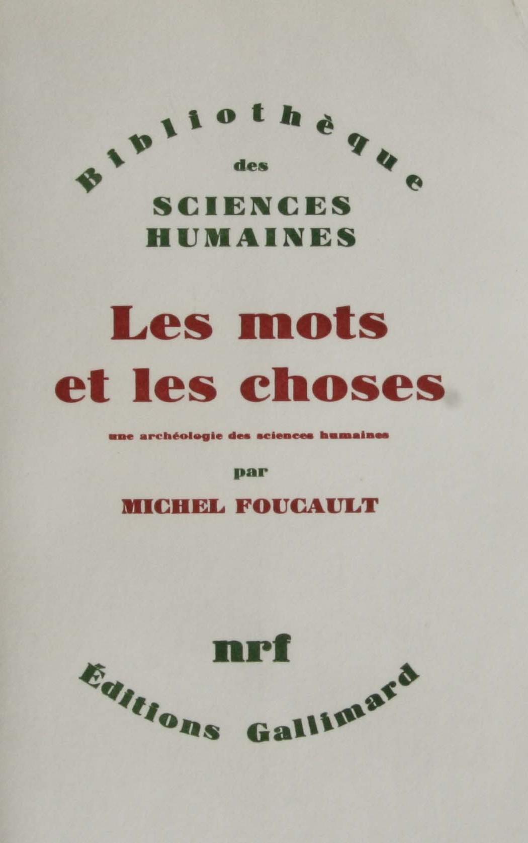 Michel Foucault first edition