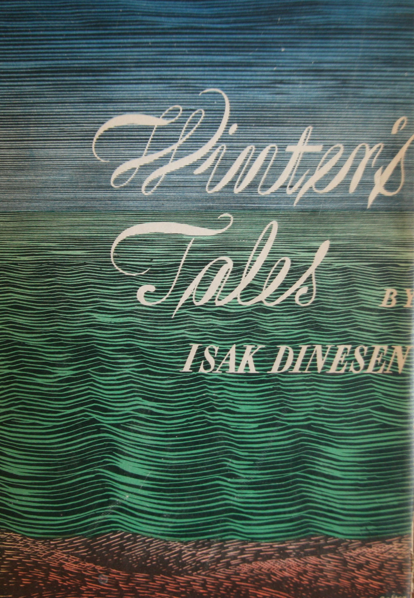 Isak Dinesen Winters Tale first edition