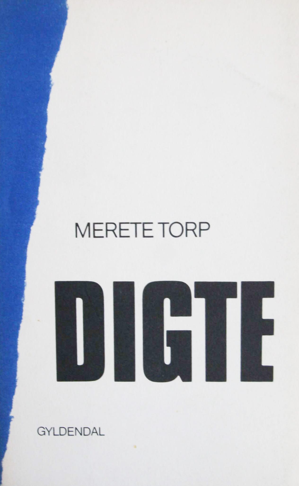 merete torp digte første udgave