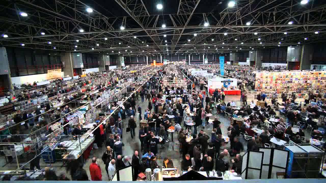 Record fair in Utrecht