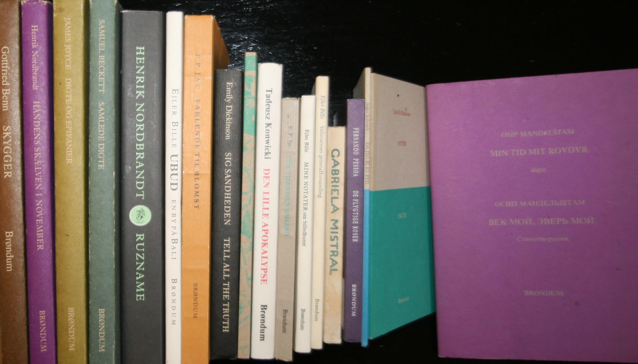 Bøger fra Brøndums Forlag