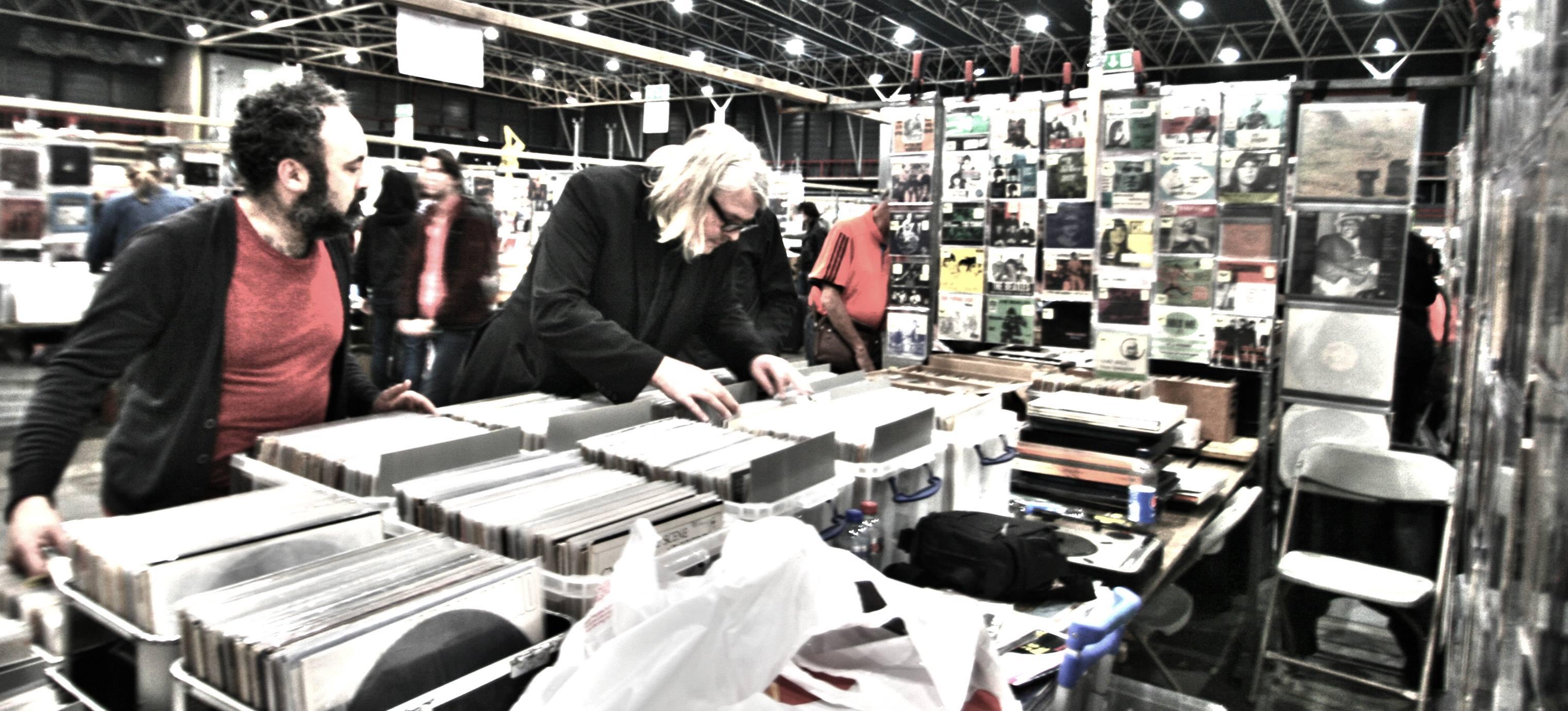 Vinyl Convention in Jaarbeurs, Utrecht with Lars Rørbæk