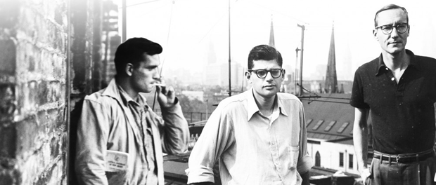 kerouac, ginsberg and burroughs