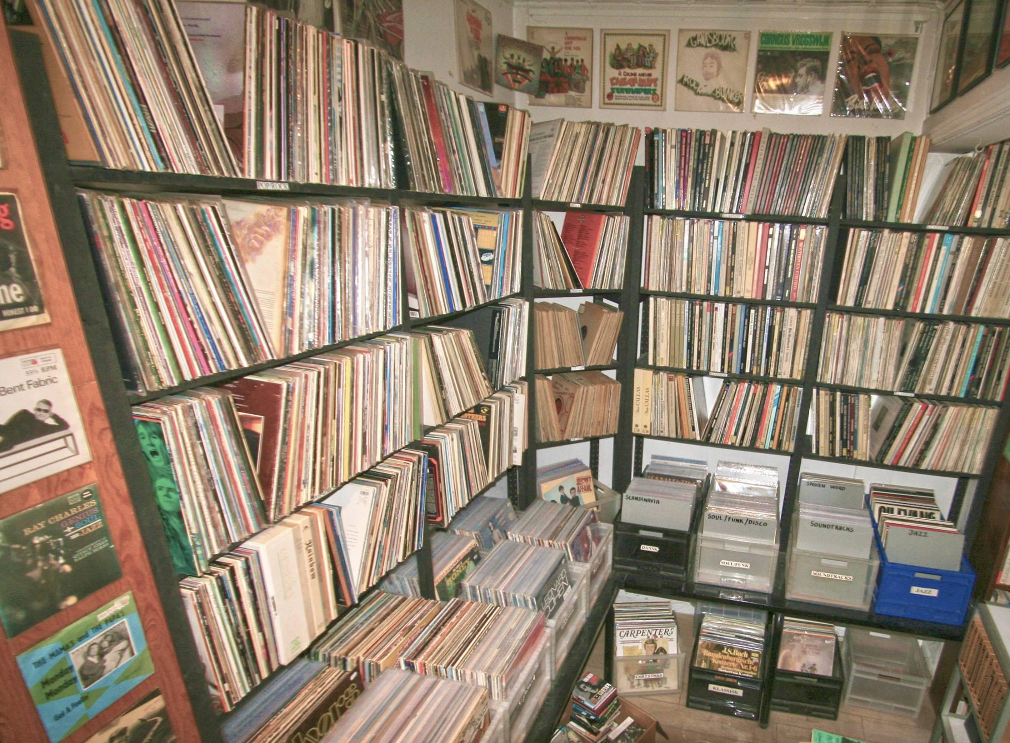 clemens antikvariat vinylplader