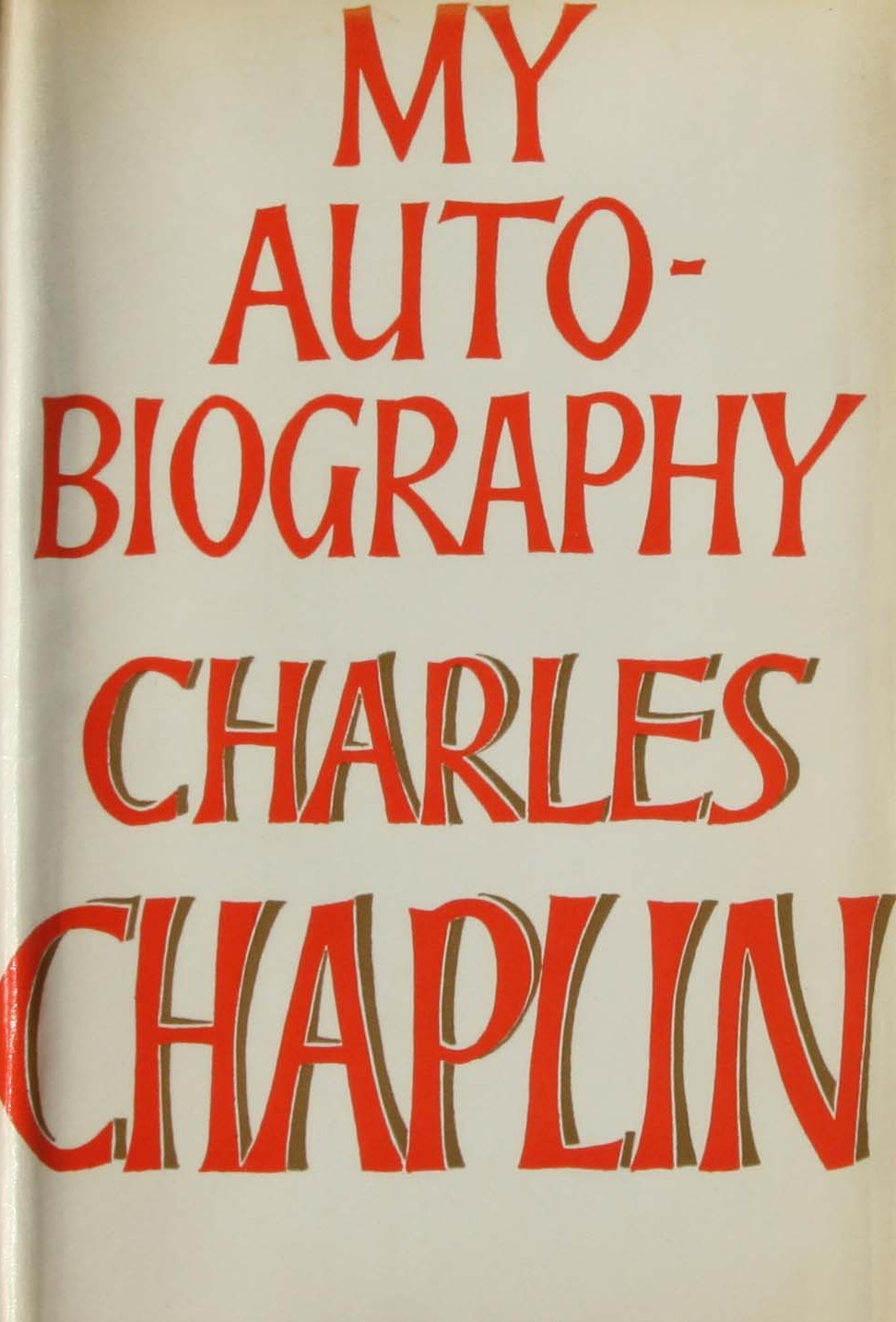 Charles Chaplin My Autobiography first edition