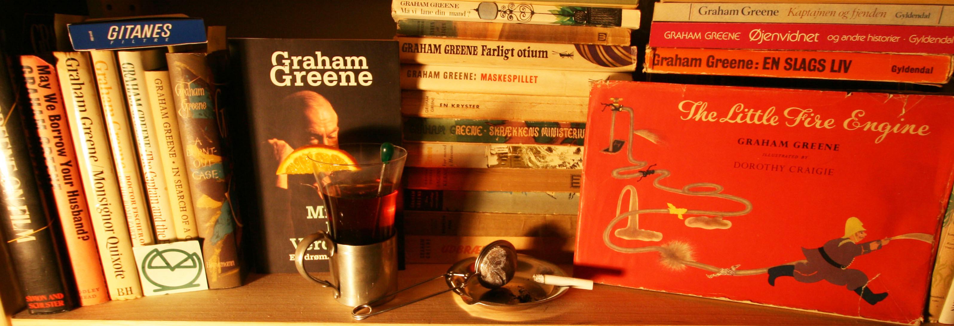 Having tea with Graham Greene, Clemens Antikvariat