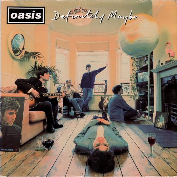 oasis definitely maybe orig. press. vinyl lp