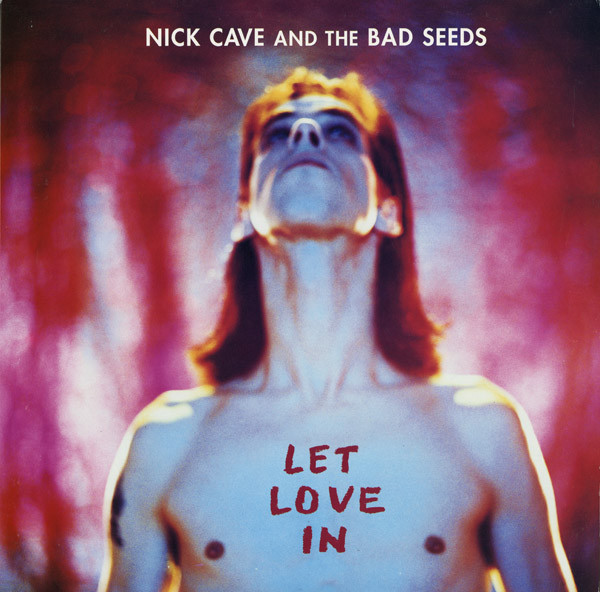 nick cave and the bad seeds let love in vinyl lp orig. uk press.