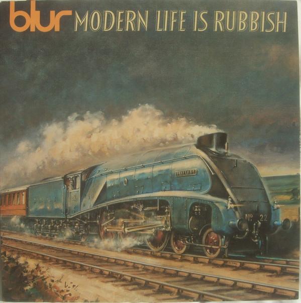 blur modern life is rubbish vinyl album orig. uk press