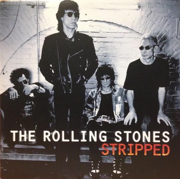the rolling stones stripped vinyl album orig u.k. press.