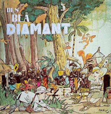 den blå diamant gotha andersen lp børneplade