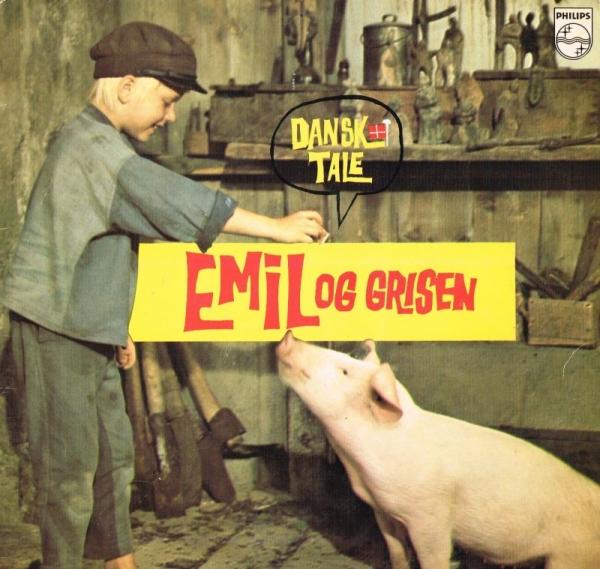 astrid lindgren emil og grisen lp børneplade