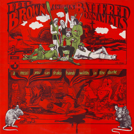 Pete Brown And His Battered Ornaments A Meal You Can Shake Hands With In The Dark vinyl album uk
