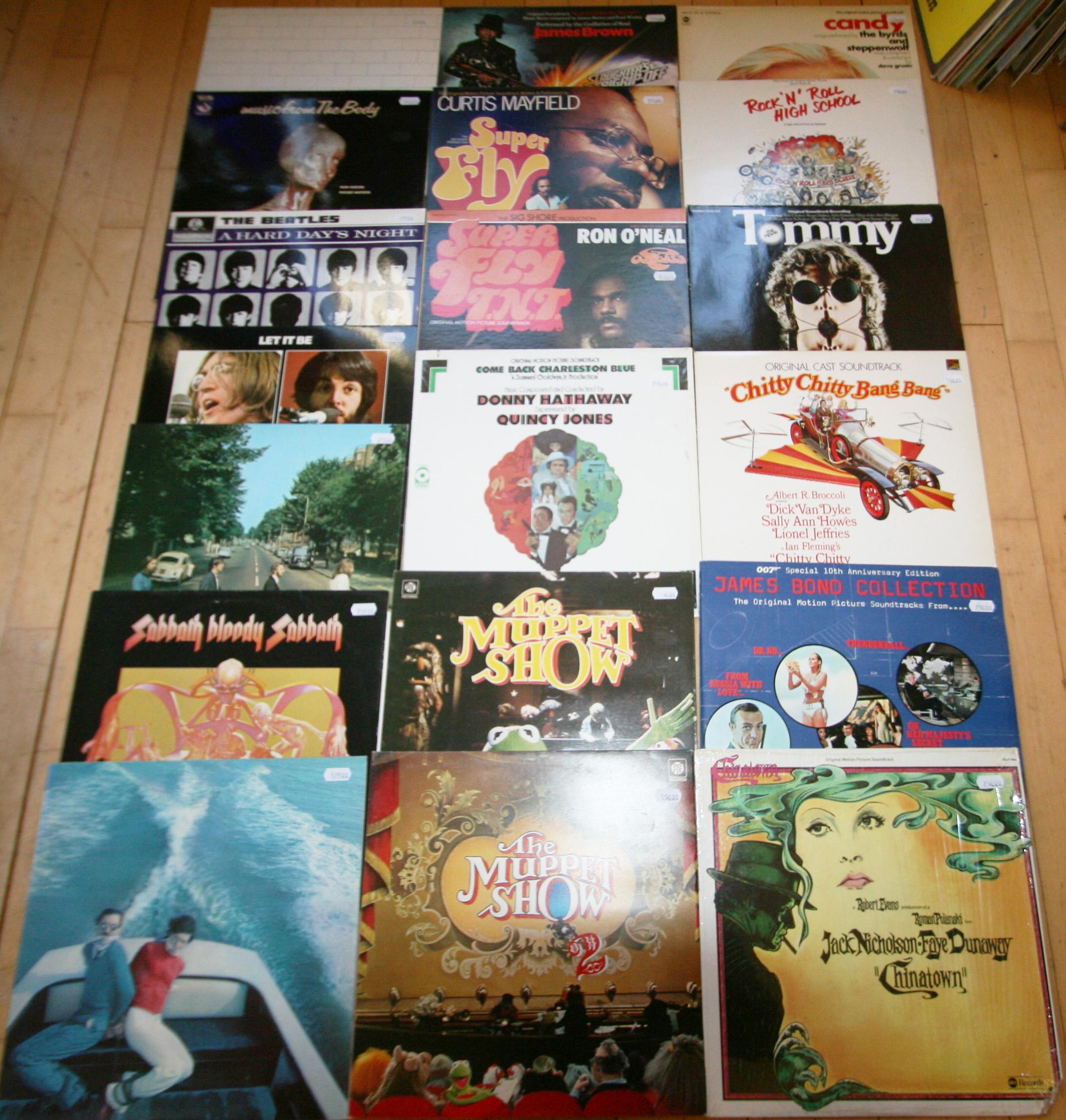Rock & soul & soundtracks - vinyl