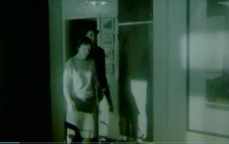Højbjergmordet - Figuranter ved gerningsstedet, december 1967