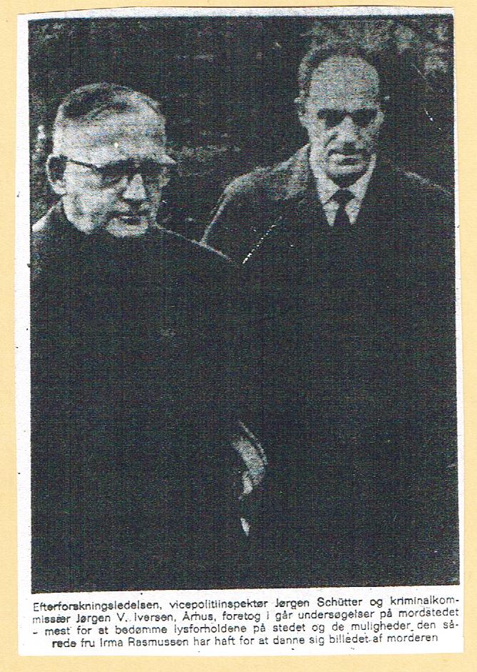 Højbjerg-mordet - Jørgen Schütter og Jørgen V. Iversen