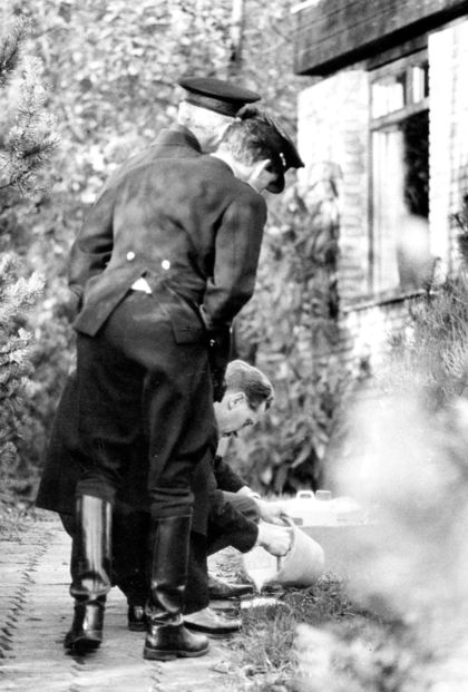 Århus Politis Tekniske Afd. på Hestehavevej 2b - Højbjergmordet 1967