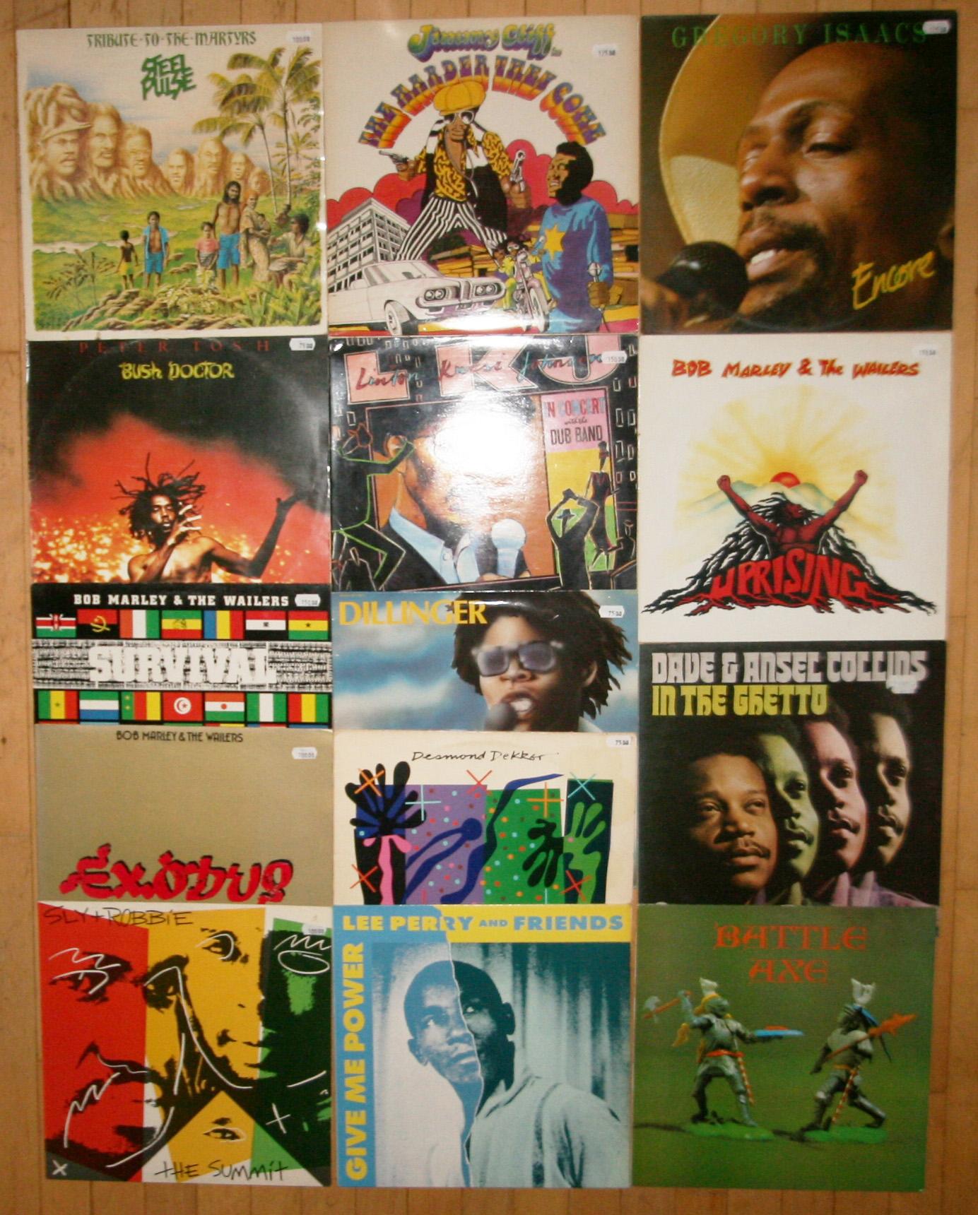 Reggae vinyler