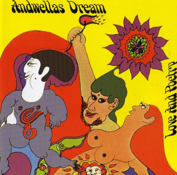 Andwellas Dream Love And Poetry CBS ‎63673 Vinyl LP
