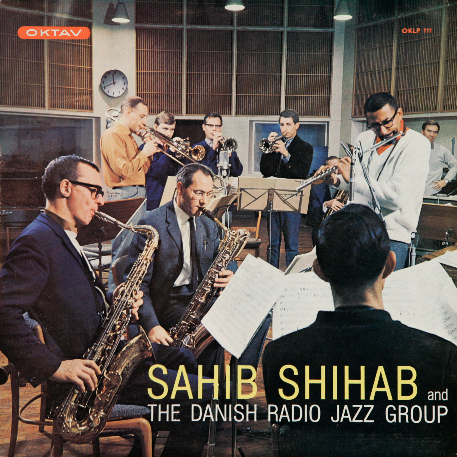 Sahib Shihab And The Danish Radio Jazz Group Oktav OKLP 111 Vinyl LP