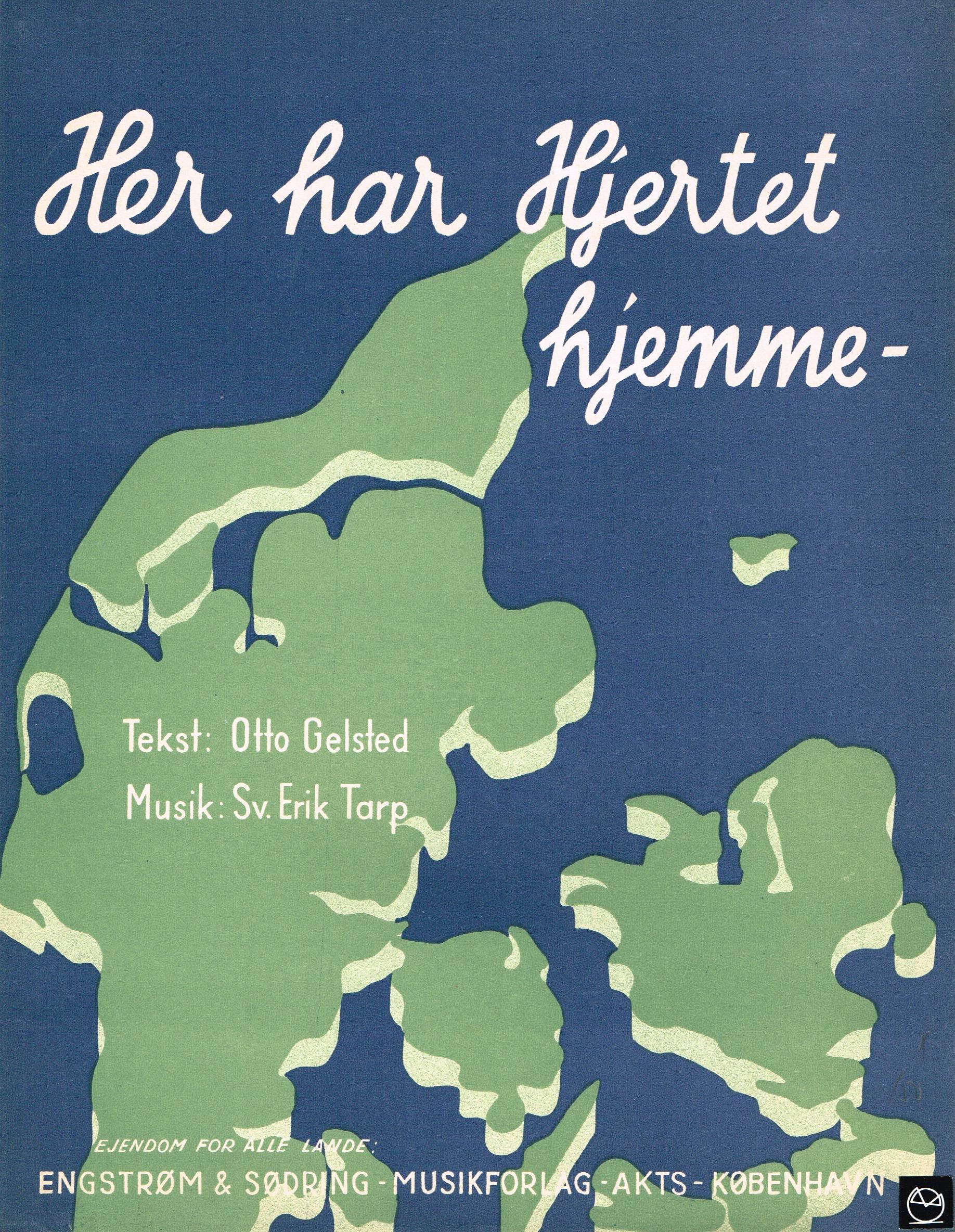 Otto Gelsted Her Har Hjertet Hjemme Nodeomslag