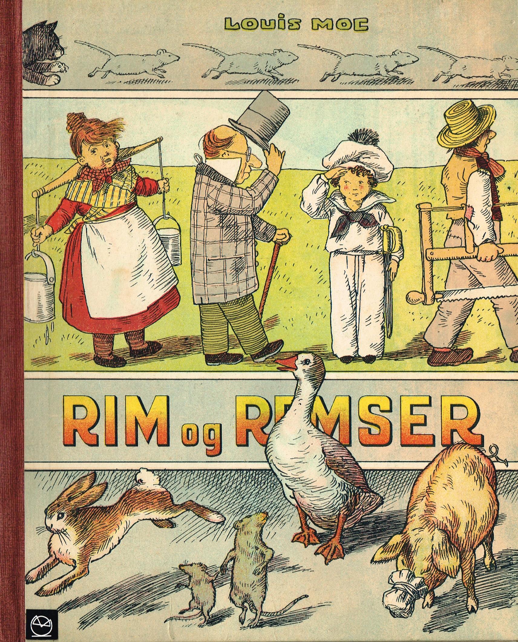Louis Moe billedbog Rim og Remser