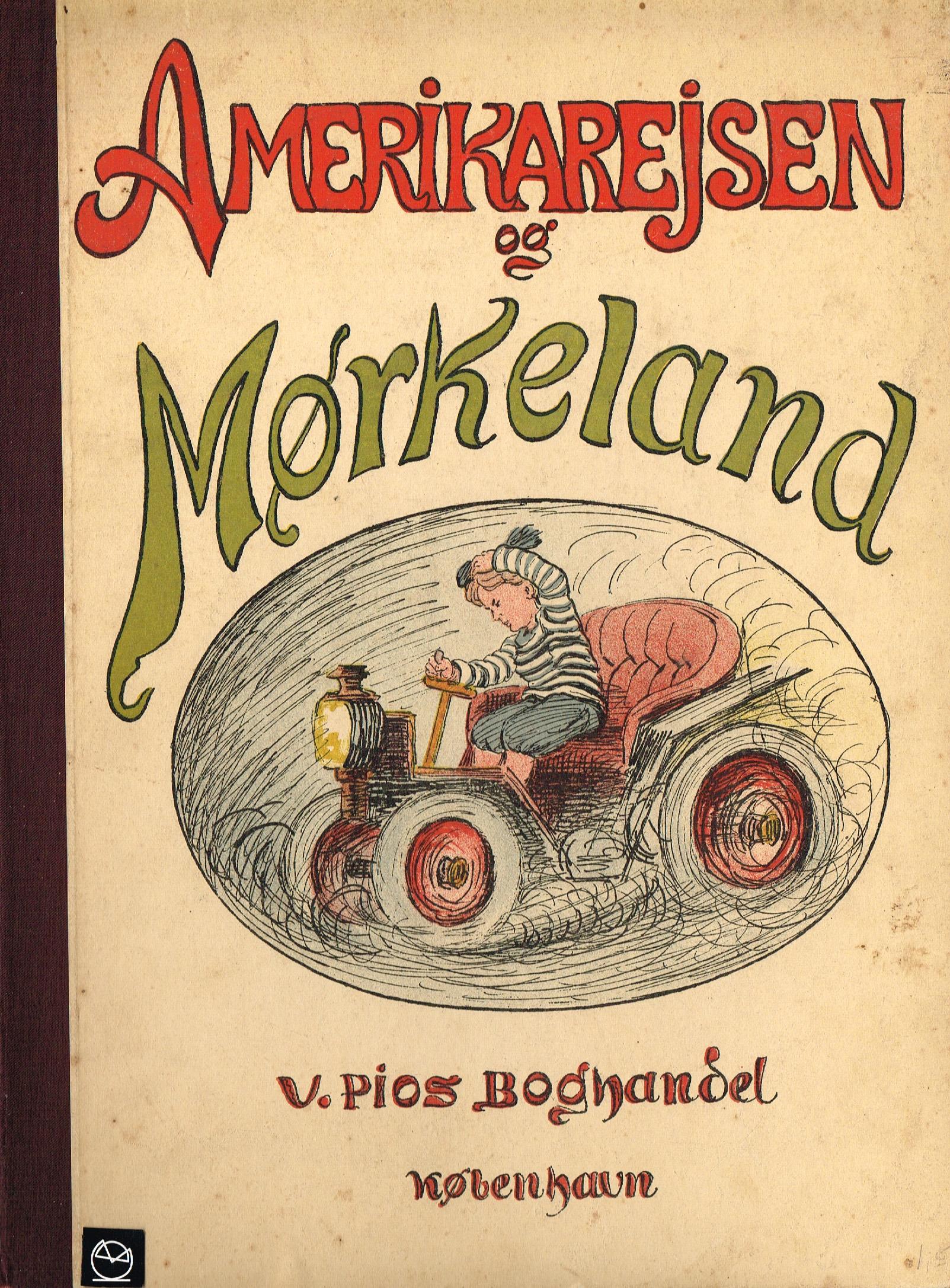 Louis Moe Mørkeland billedbog