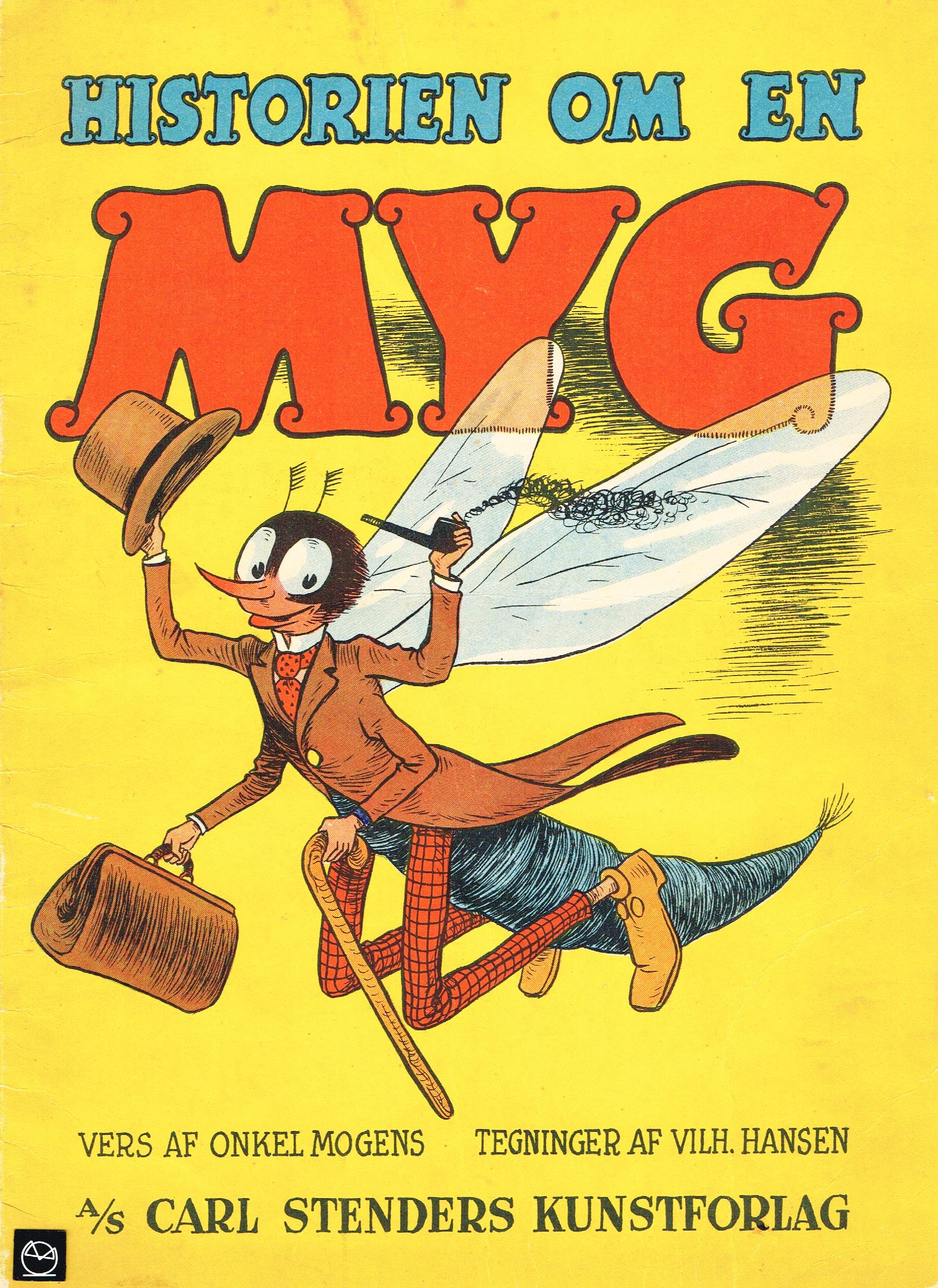 Historien om en myg billedbog