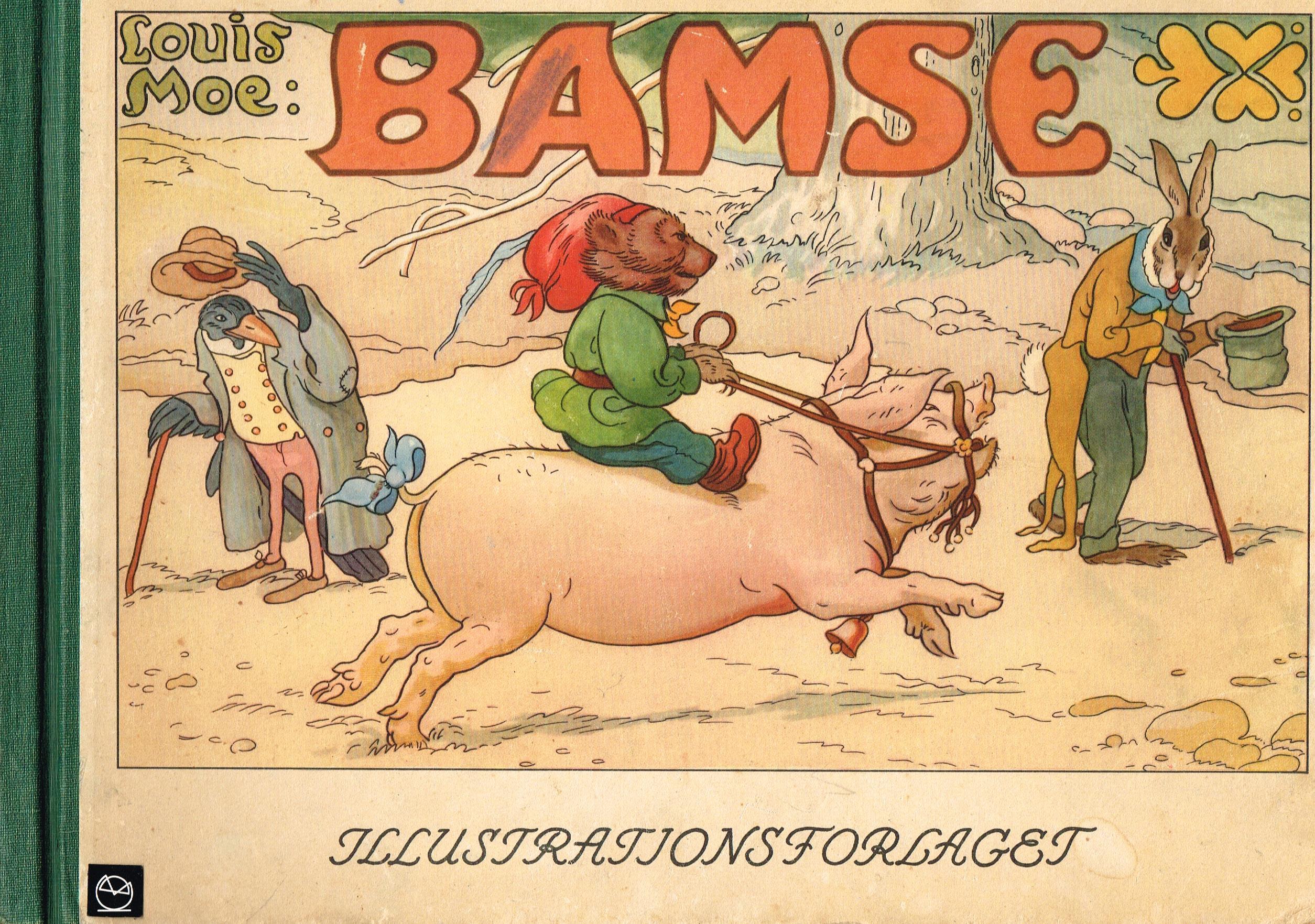 Louis Moe Bamse billedbog