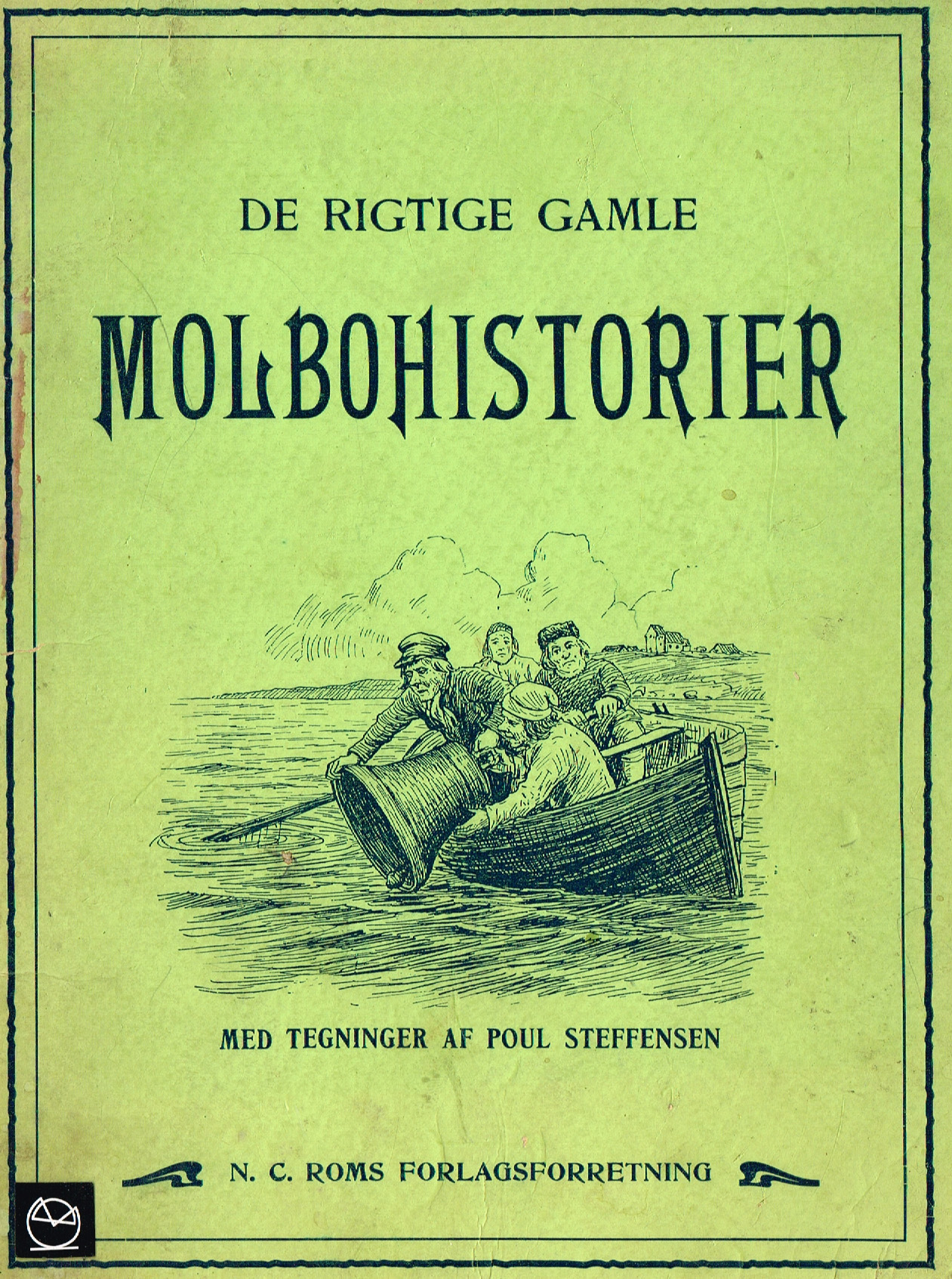 De Rigtige Gamle Molbohistorier billedbog