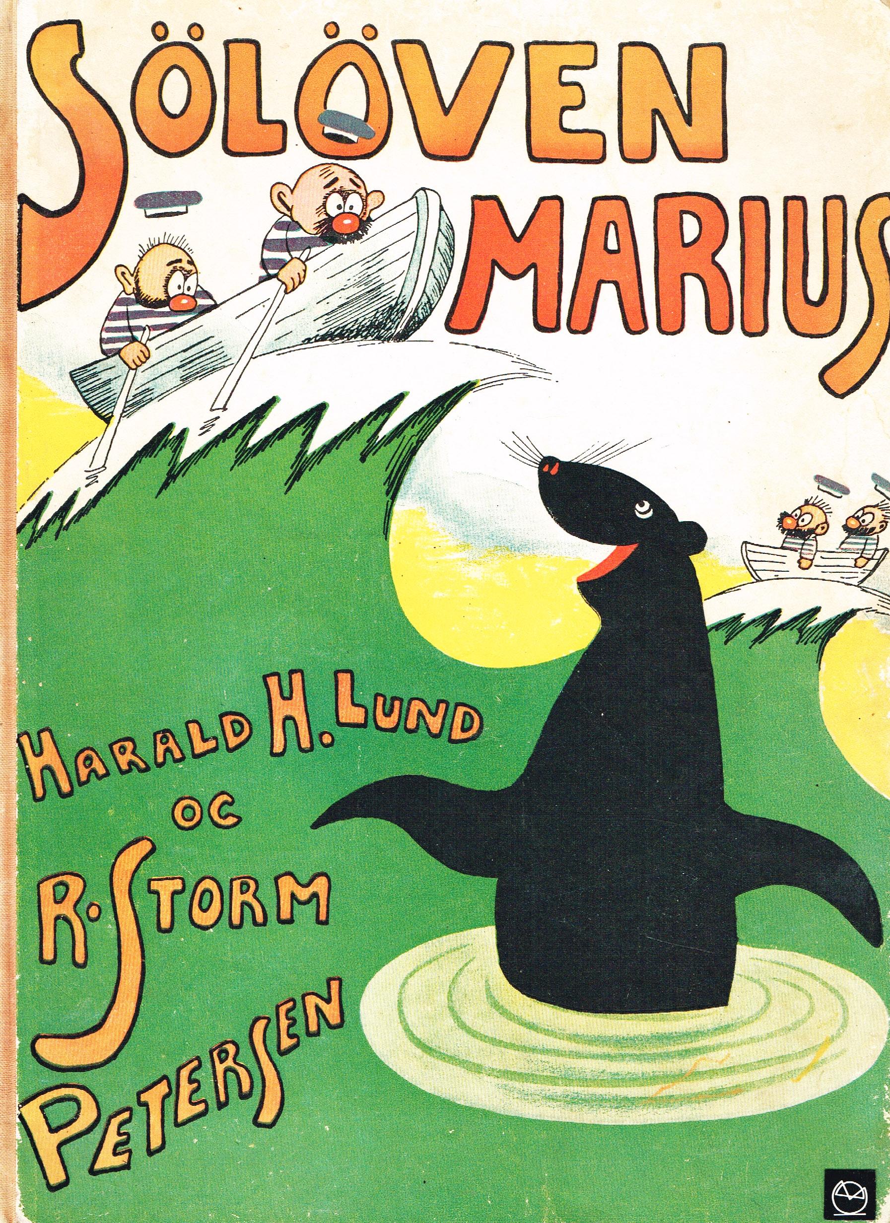 Søløven Marius Storm P. og Harald H. Lund Billedbog