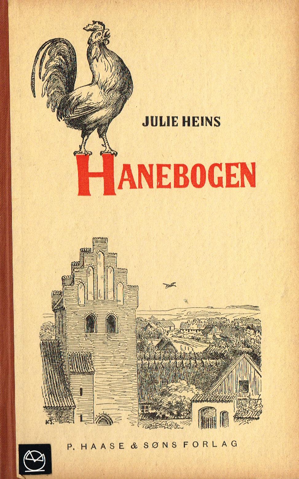 Julie Heins Hanebogen a-b-c med billeder skolebog 1932