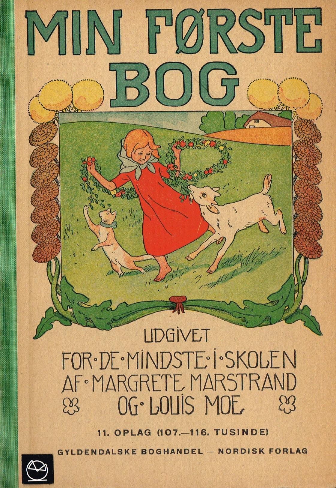 Louis Moe Min første bog skolebog
