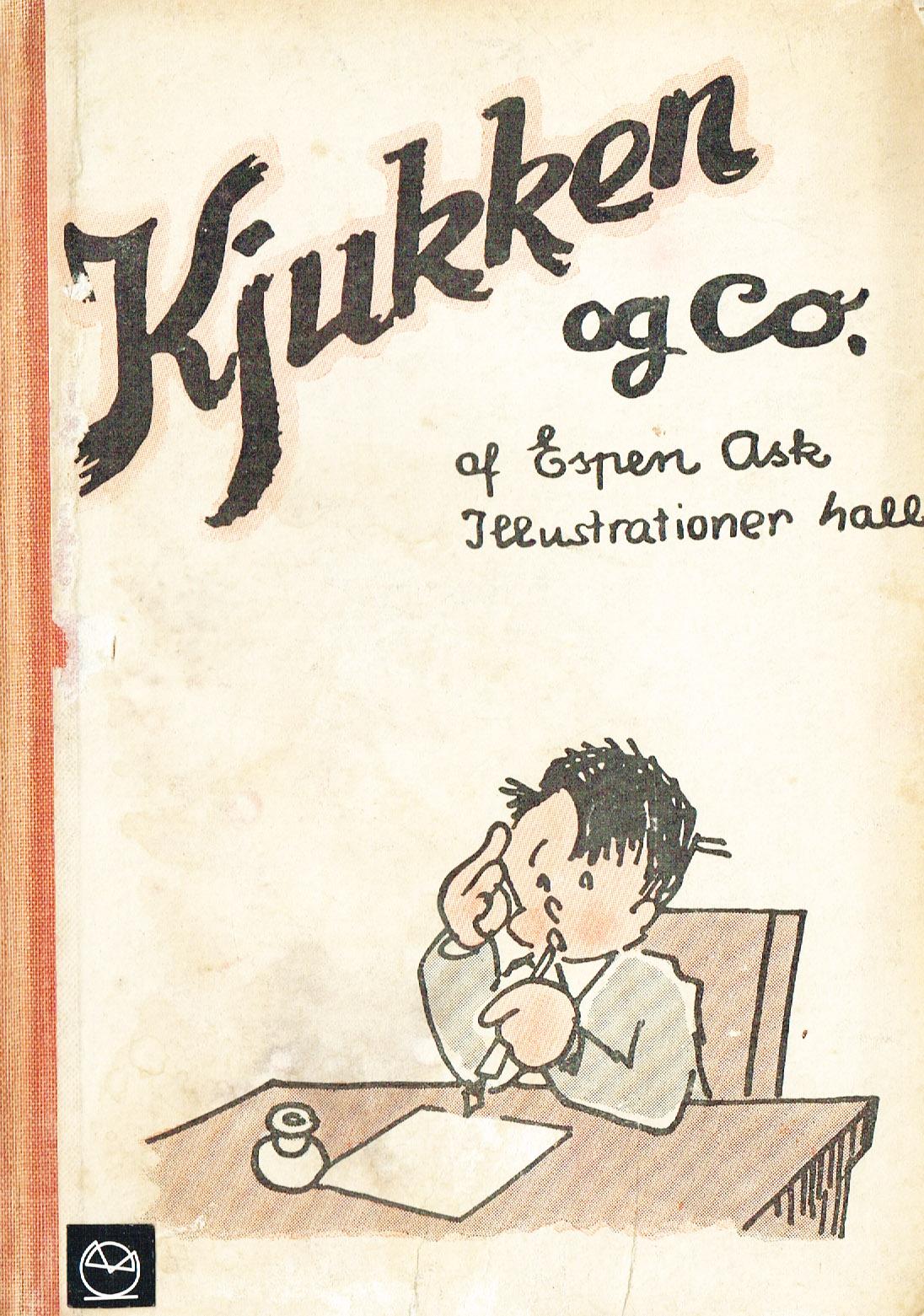 Kjukken og Co. børnebog Kim Larsen
