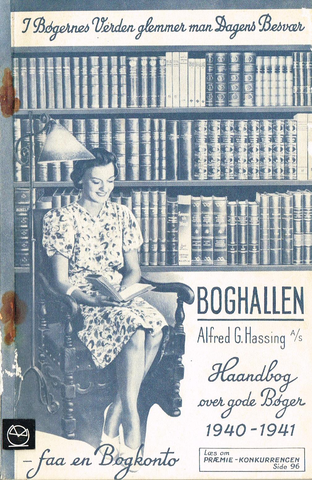 Boghallen Haandbog over gode bøger 1940-41