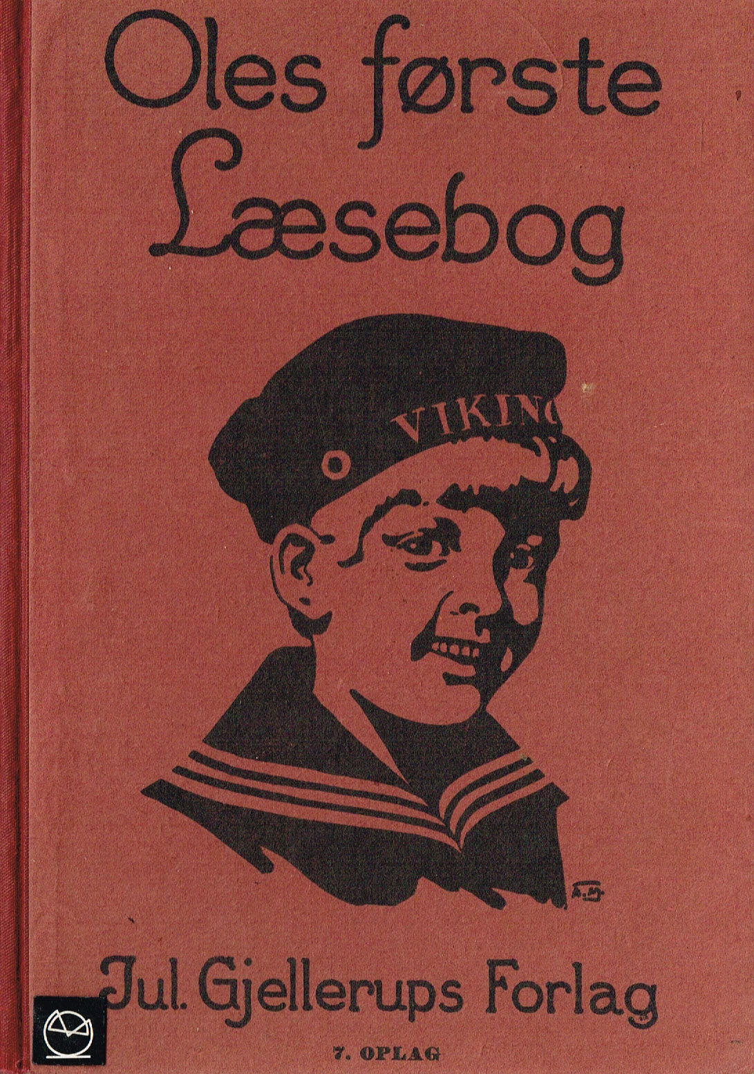 Oles første læsebog - ældre skolebøger