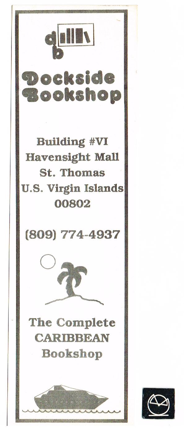 Dockside Bookshop, Virgin Islands - Bookmark