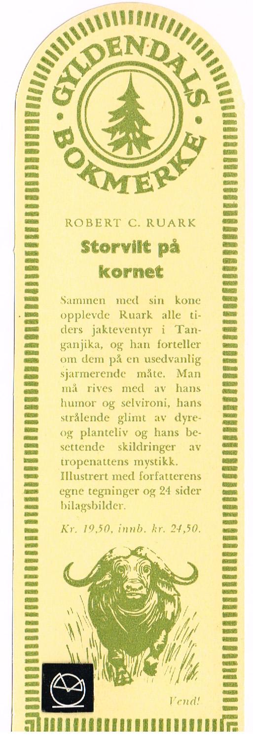 Gyldendal Norsk Boghandel - Bokmerke