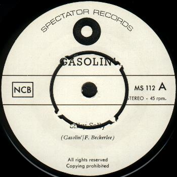 gasolin - silky sally - 7-inch