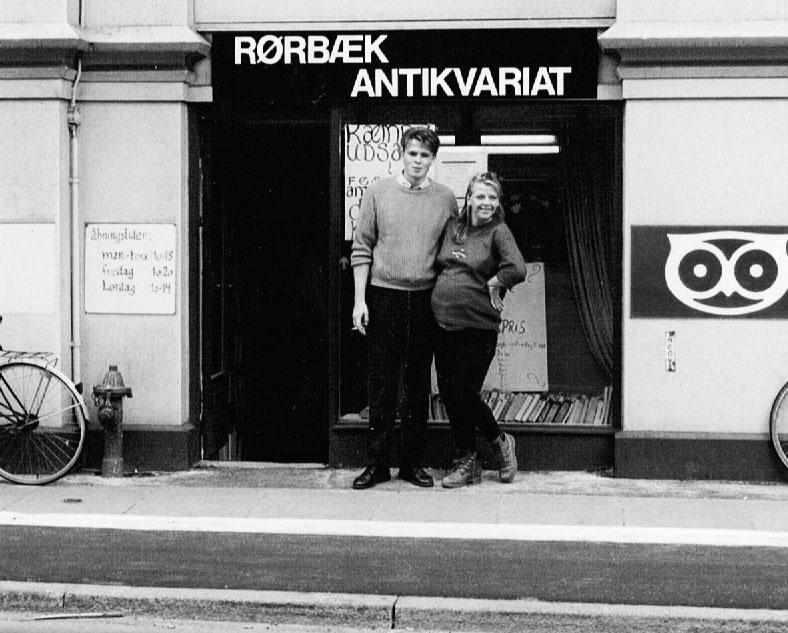 rørbæk antikvariat 1989
