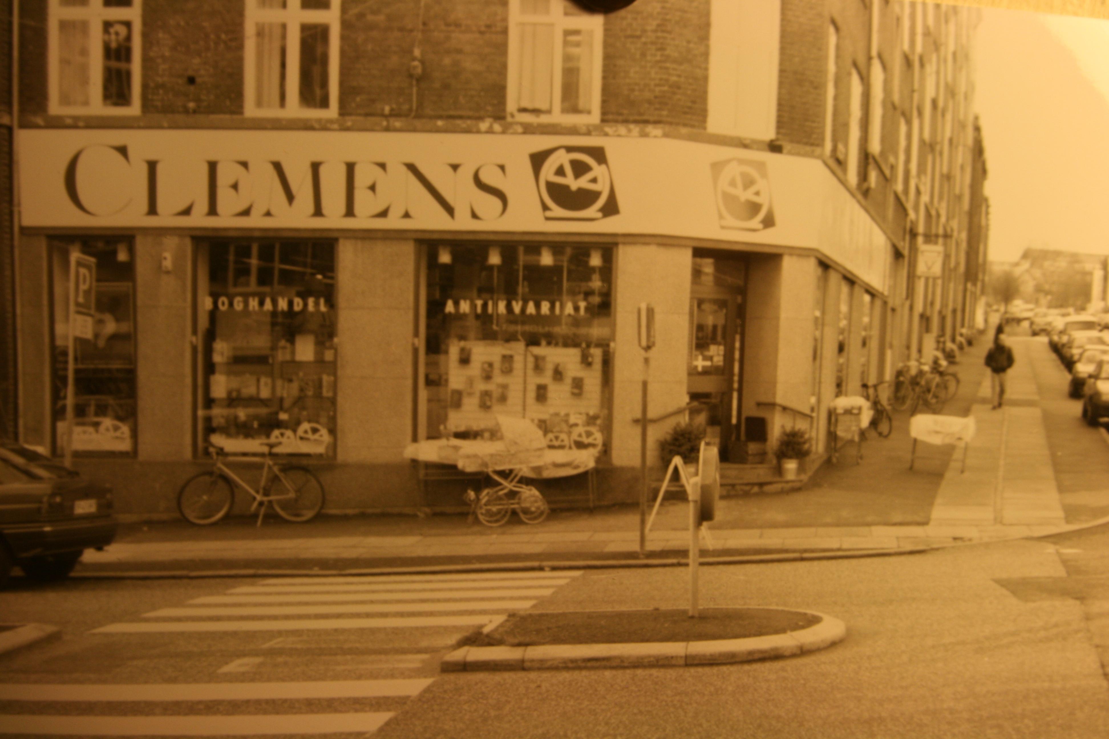 Clemens Boghandel og Antikvariat, Tordenskjoldsgade 37, 1996 - foto Lars Rørbæk - foto 3
