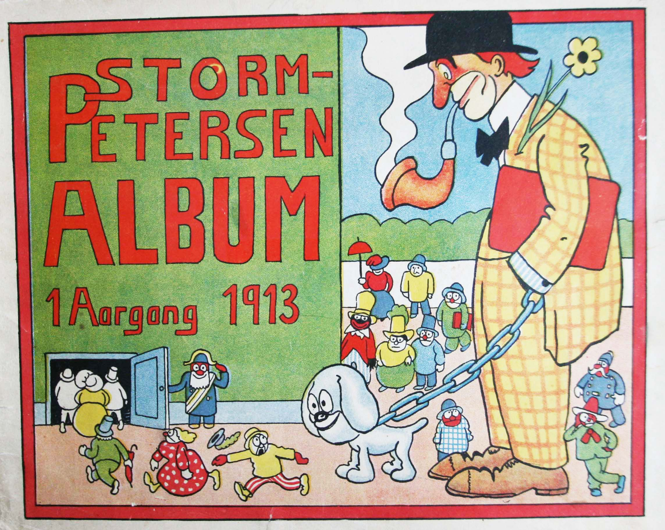 Robert Storm Petersen Storm P. Album 1913 første årgang