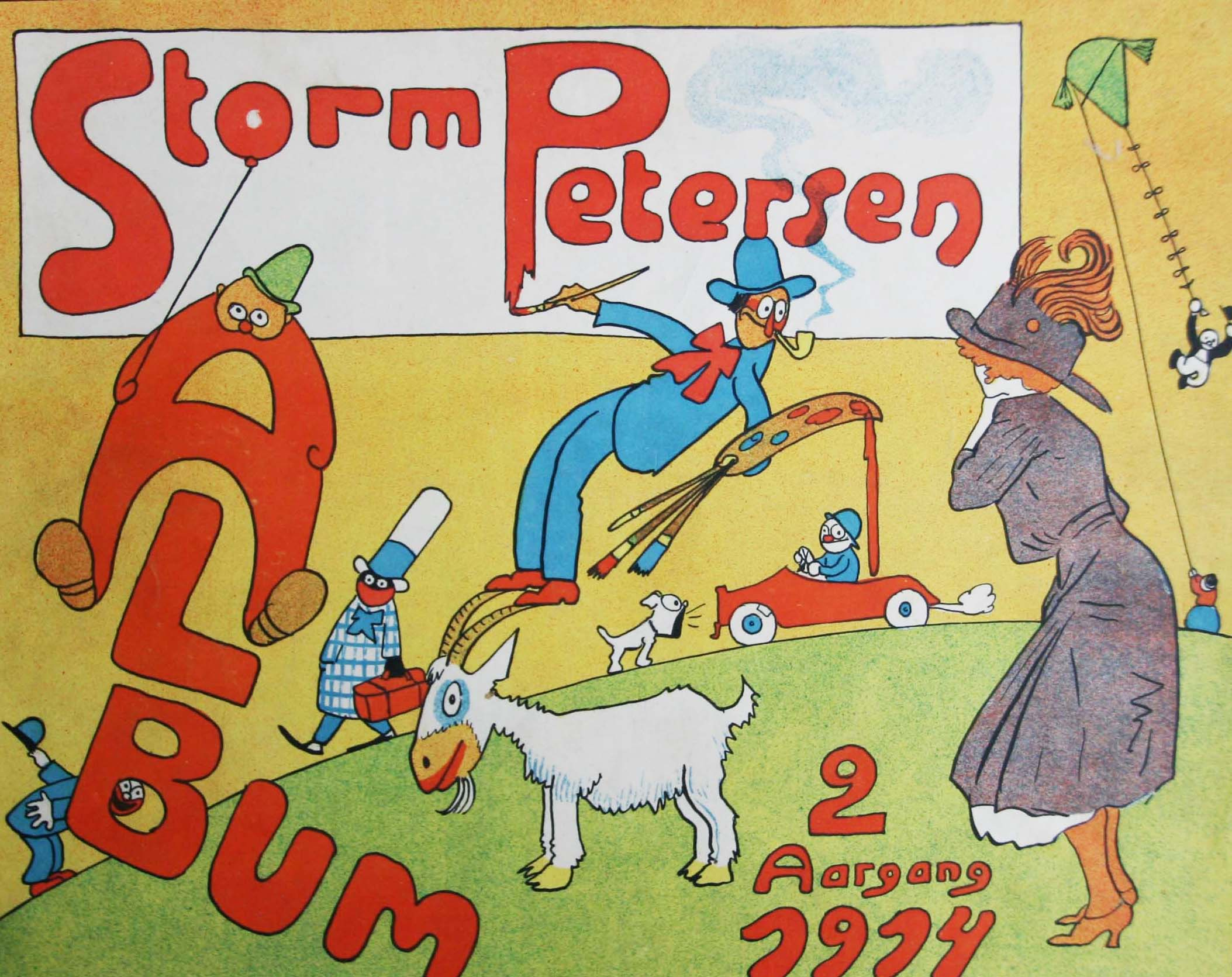 Robert Storm Petersen Storm P. Album 1914