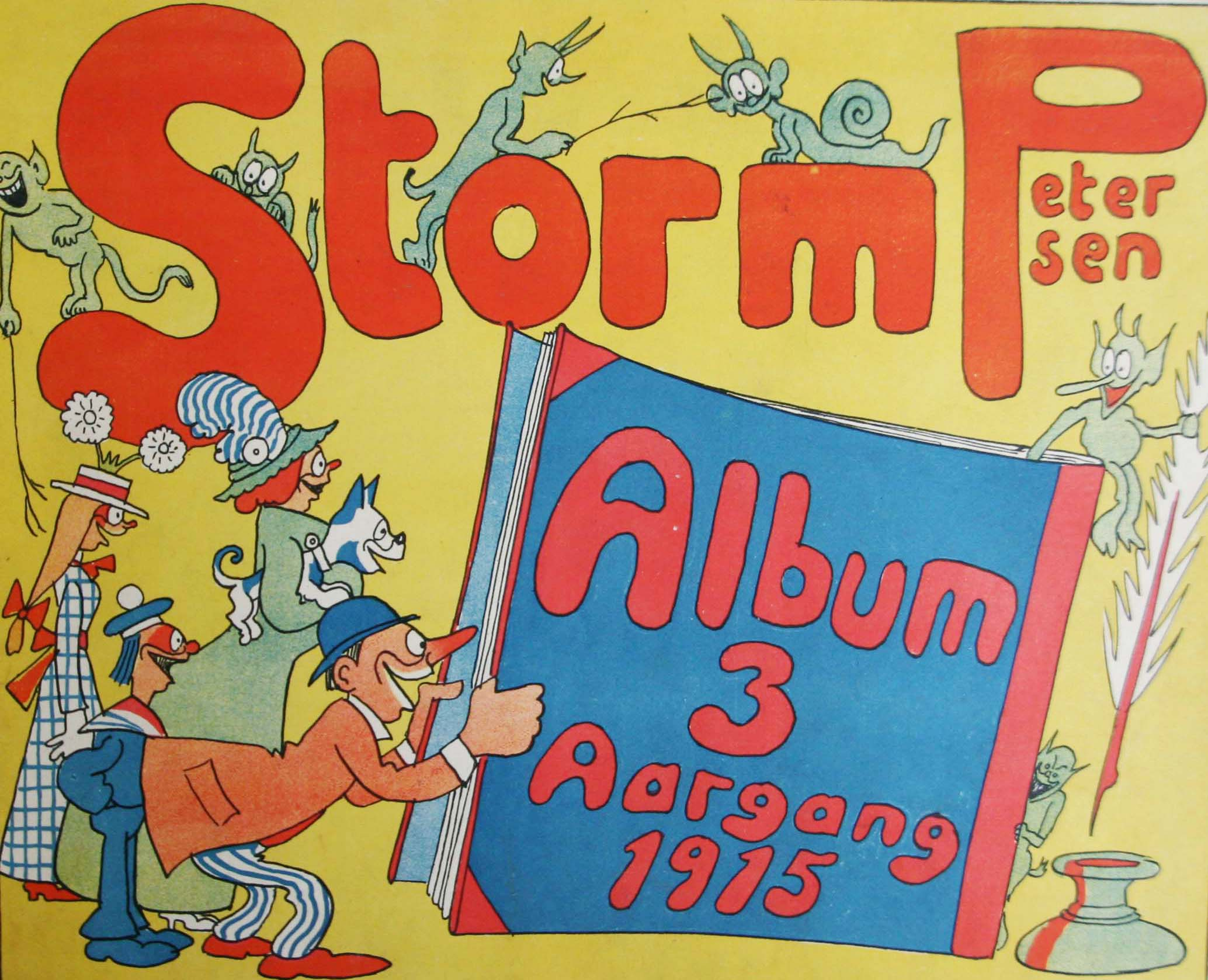 Robert Storm Petersen Storm P. Album 1915