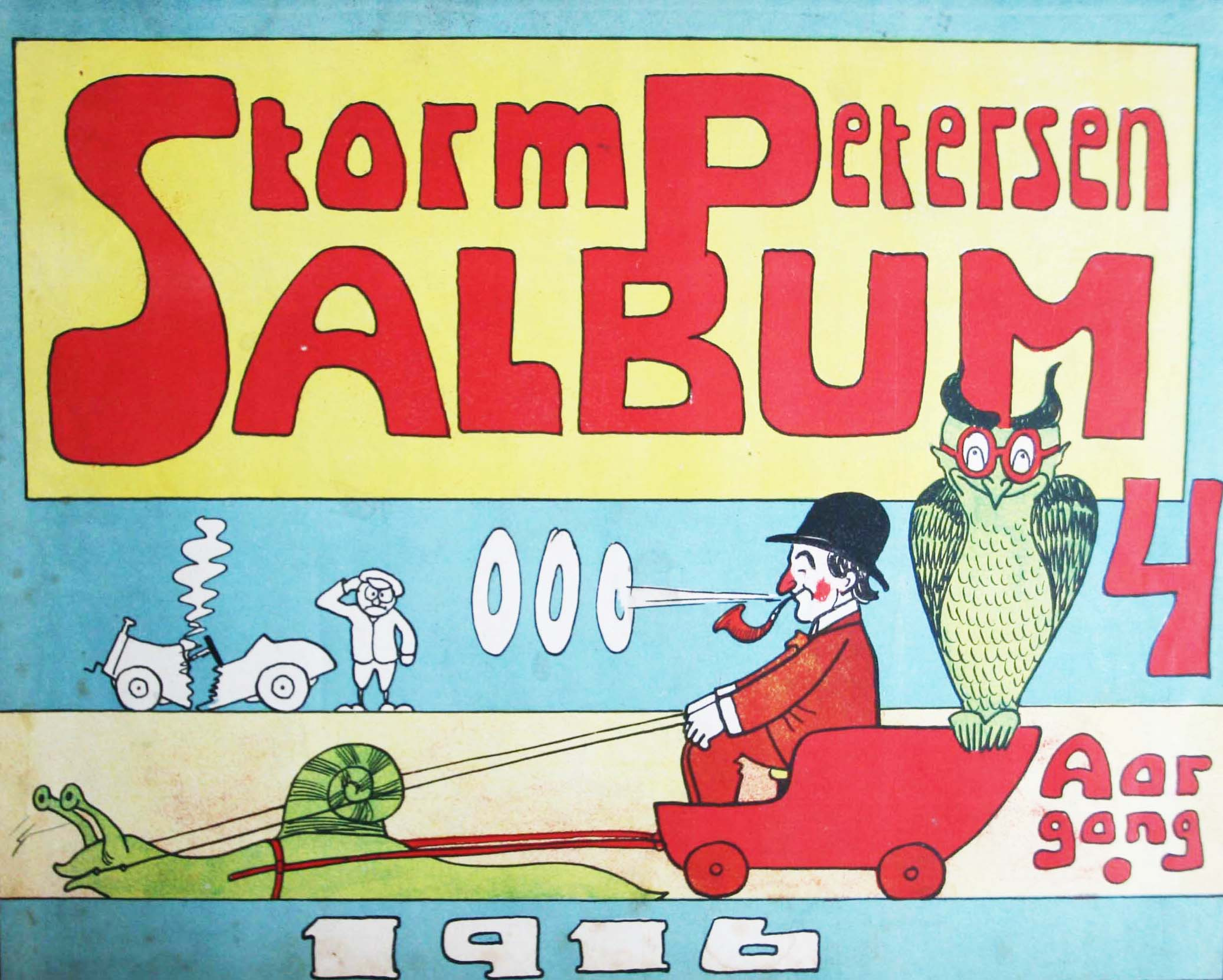 Robert Storm Petersen Storm P. Album 1916