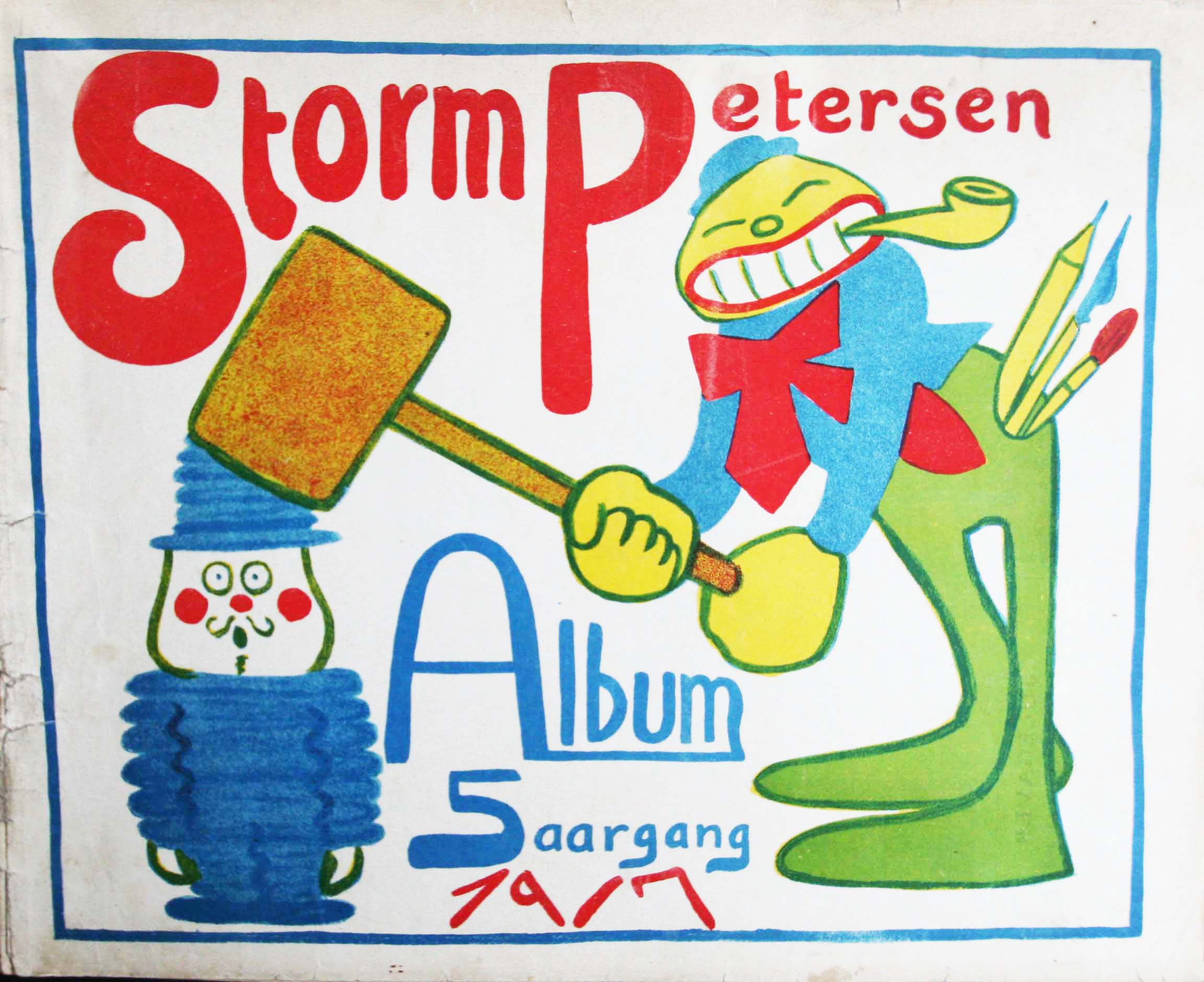 Robert Storm Petersen Storm P. Album 1917